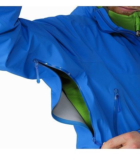 Beta SL Hybrid Jacket Rigel Unterarmreißverschluss