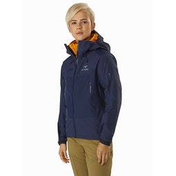 Beta SL Hybrid Jacket Women's Cobalt Moon Front View
