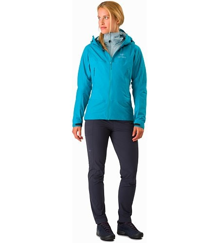 Beta SL Hybrid Jacket Women's Dark Firoza Front View