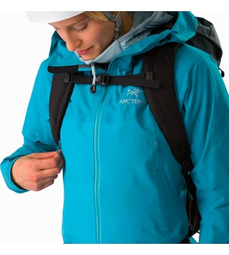 Beta SL Hybrid Jacket Women's Dark Firoza Hand Pocket Pack