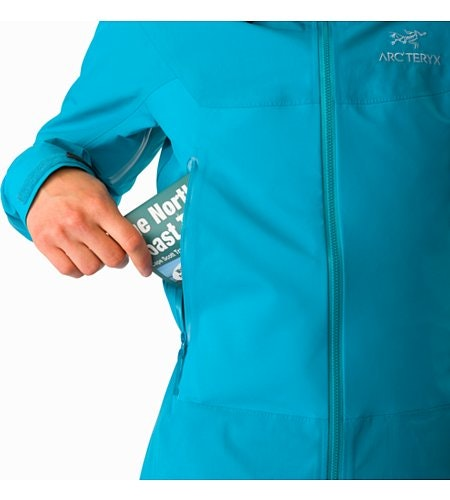 Beta SL Hybrid Jacket Women's Dark Firoza Hand Pocket