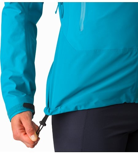 Beta SL Hybrid Jacket Women's Dark Firoza Hem Adjuster