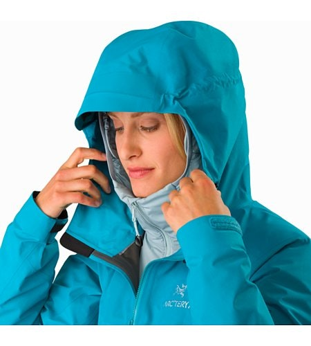 Beta SL Hybrid Jacket Women's Dark Firoza Hood Up