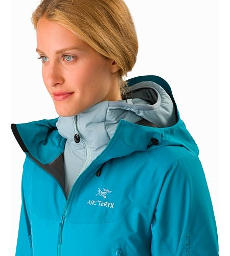 Beta SL Hybrid Jacket Women's Dark Firoza Open Collar