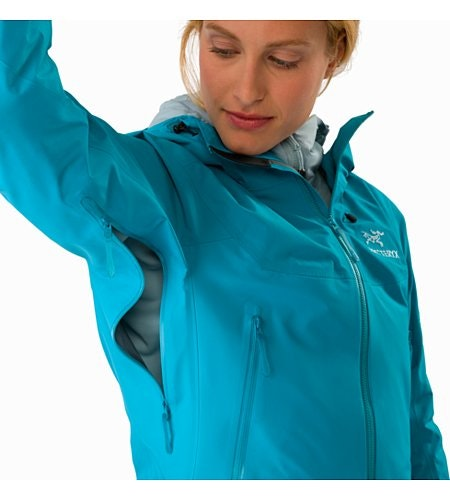 Beta SL Hybrid Jacket Women's Dark Firoza Pit Zip