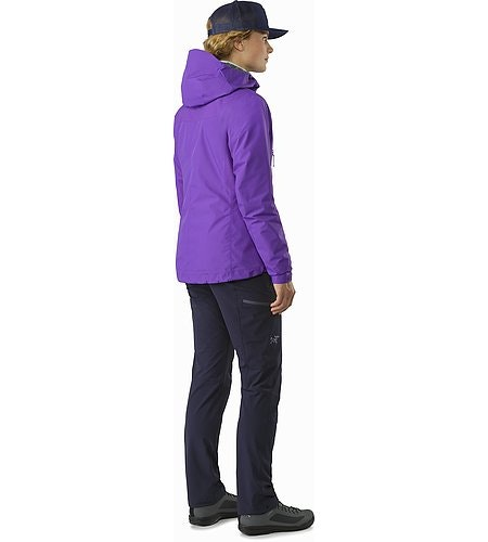 Beta SL Hybrid Jacket Women's Mauveine Back View
