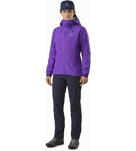 Beta SL Hybrid Jacket Women's Mauveine Front View