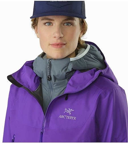 Beta SL Hybrid Jacket Women's Mauveine Open Collar