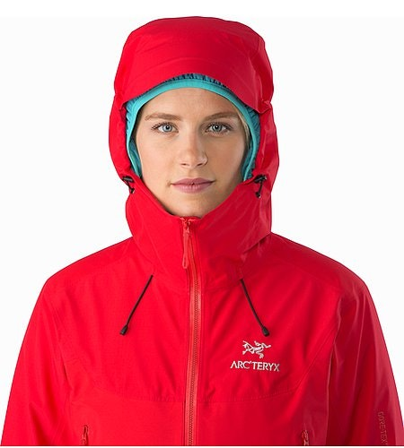 Beta SL Hybrid Jacket Women's Rad Hood Front View