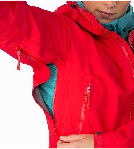 Beta SL Hybrid Jacket Women's Rad Pit Zips