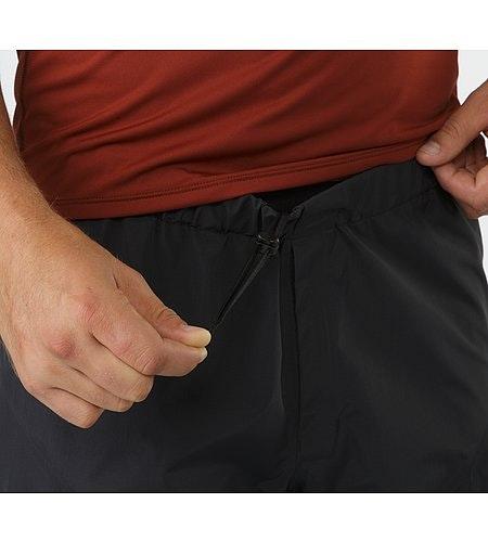 Beta SL Pant Black Waist Drawcords