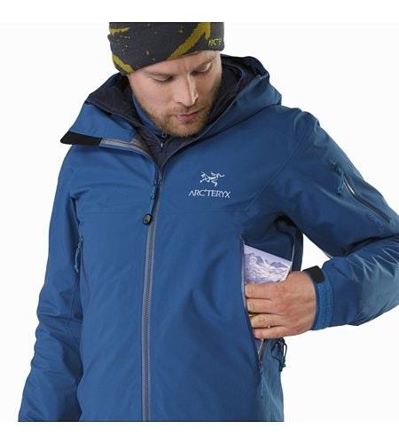 Beta SV Jacket Howe Sound Hand Pocket