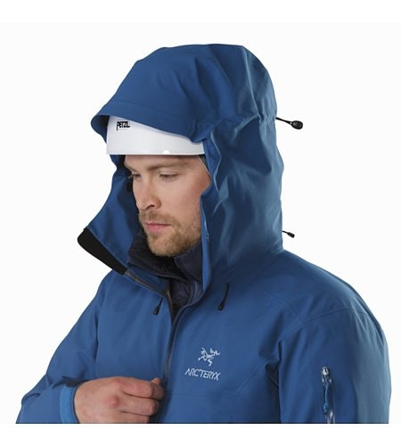 Beta SV Jacket Howe Sound Helmet Compatible Hood
