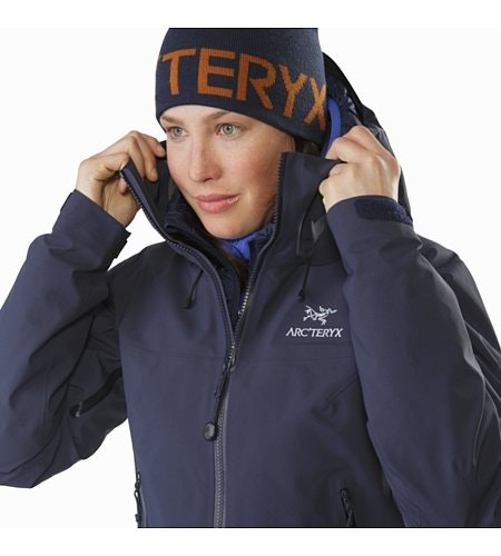 Beta SV Jacket Women's Black Sapphire Collar