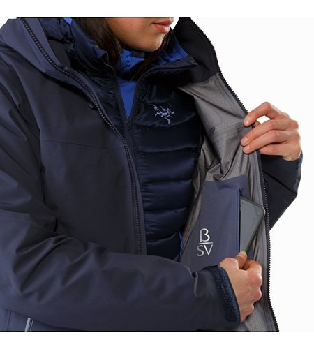 Beta SV Jacket Women's Black Sapphire Internal Security Pocket