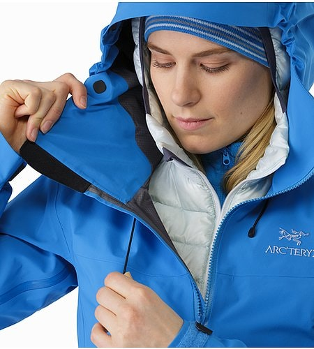 Beta SV Jacket Women's Cedros Blue Cohaesive™ Hood Adjuster 2