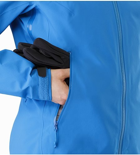 Beta SV Jacket Women's Cedros Blue Hand Pocket 2
