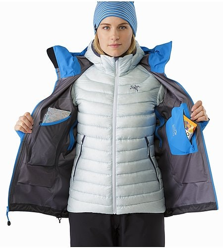 Beta SV Jacket Women's Cedros Blue Internal Pocket 2