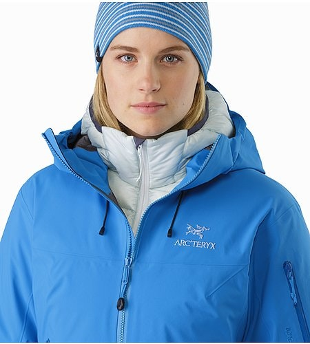 Beta SV Jacket Women's Cedros Blue Open Collar 2