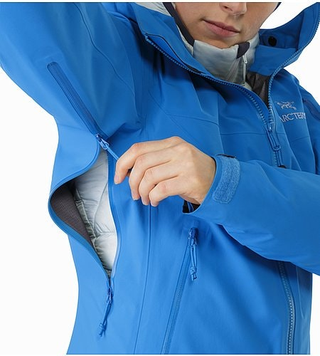 Beta SV Jacket Women's Cedros Blue Pit Zip 2
