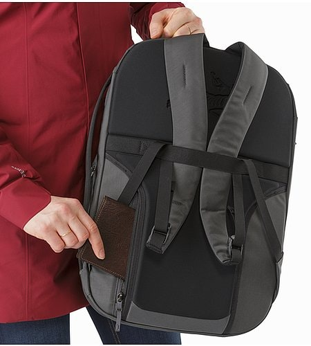 Blade 20 Backpack Pilot Back Panel Pocket