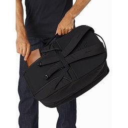Blade 28 Backpack Black Back Panel