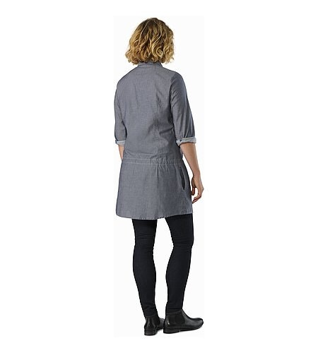 Blanchard Tunic Women's Denim Back View