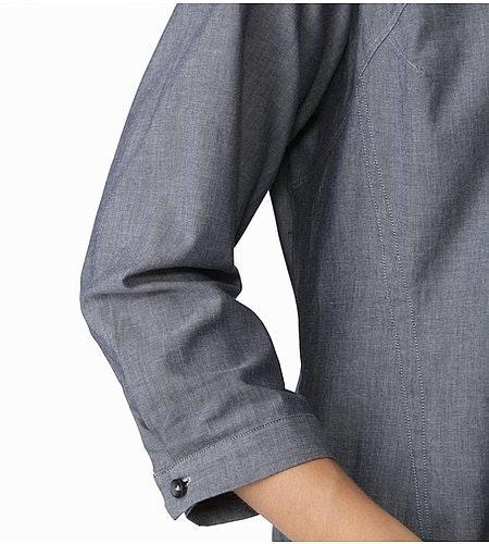 Blanchard Tunic Women's Denim Cuff Detail