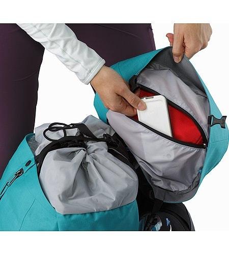 Bora AR 49 Backpack Women's Castaway Internal Lid Security Pocket