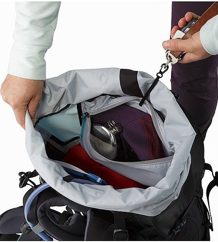 Bora AR 49 Backpack Women's Castaway Internal Security Pocket