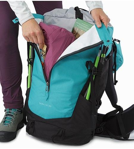 Bora AR 49 Backpack Women's Castaway Kangaroo Pocket