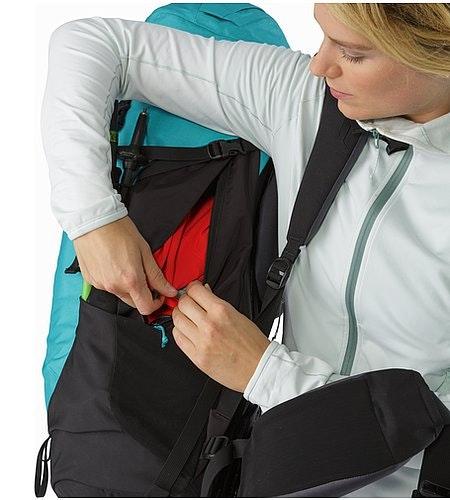 Bora AR 49 Backpack Women's Castaway Side Access