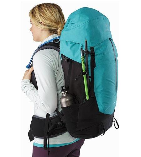Bora AR 49 Backpack Women's Castaway Side Pockets