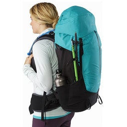 Bora AR 49 Backpack Women's Castaway Side Pockets