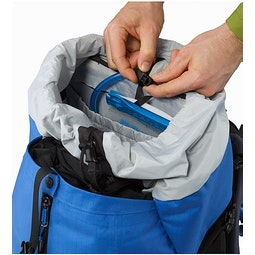 Bora AR 50 Backpack Borneo Blue Hydration Pocket