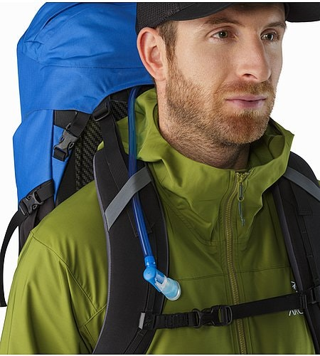 Bora AR 50 Backpack Borneo Blue Hydration Port