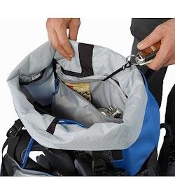 Bora AR 50 Backpack Borneo Blue Internal Security Pocket