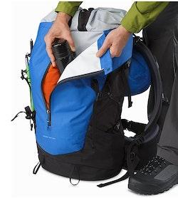 Bora AR 50 Backpack Borneo Blue Kangaroo Pocket
