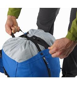 Bora AR 50 Backpack Borneo Blue Rolltop Closure 2