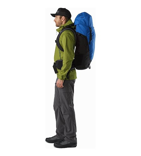 Bora AR 50 Backpack Borneo Blue Side View