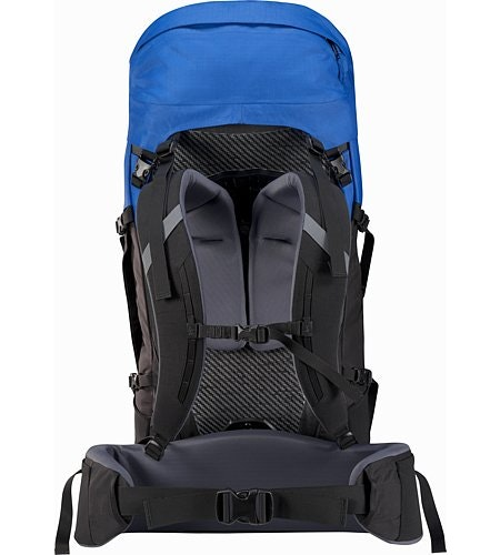 Bora AR 50 Backpack Borneo Blue Suspension