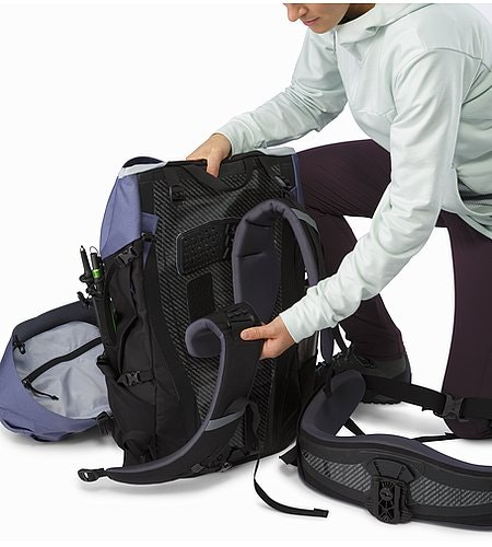 Bora AR 61 Backpack Women's Winter Iris Adjustable Shoulder Blades