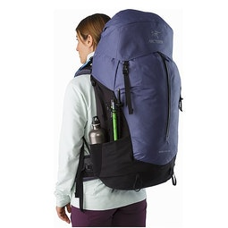 Bora AR 61 Backpack Women's Winter Iris External Pockets