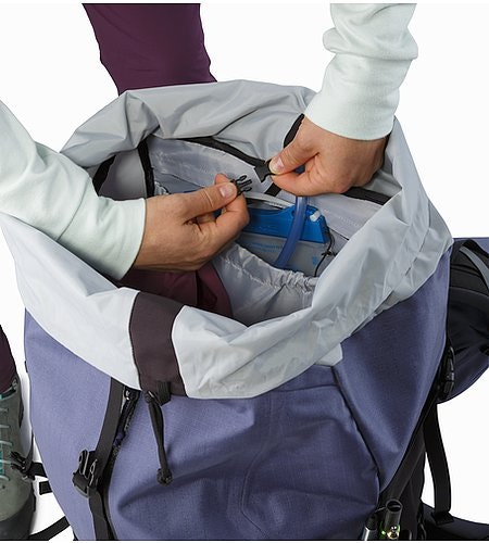 Bora AR 61 Backpack Women's Winter Iris Hydration Pocket