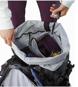 Bora AR 61 Backpack Women's Winter Iris Internal Security Pocket