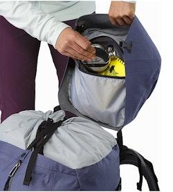 Bora AR 61 Backpack Women's Winter Iris Internal Top Lid Pocket