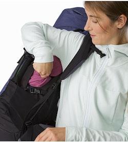 Bora AR 61 Backpack Women's Winter Iris Side Access