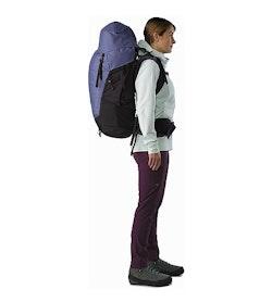 Bora AR 61 Backpack Women's Winter Iris Side View