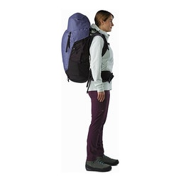Bora AR 61 Backpack Women's Winter Iris Side View