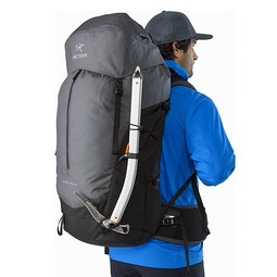 Bora AR 63 Backpack Titanium Ice Axe Attachment